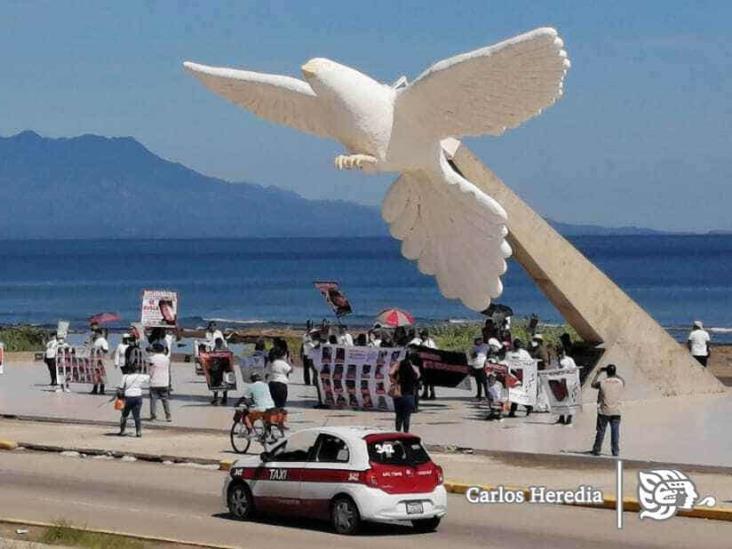 Colectivos de Búsqueda marchan en Coatzacoalcos por los desaparecidos
