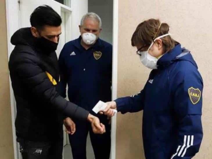 Boca Juniors anunció brote de COVID-19 en su plantilla