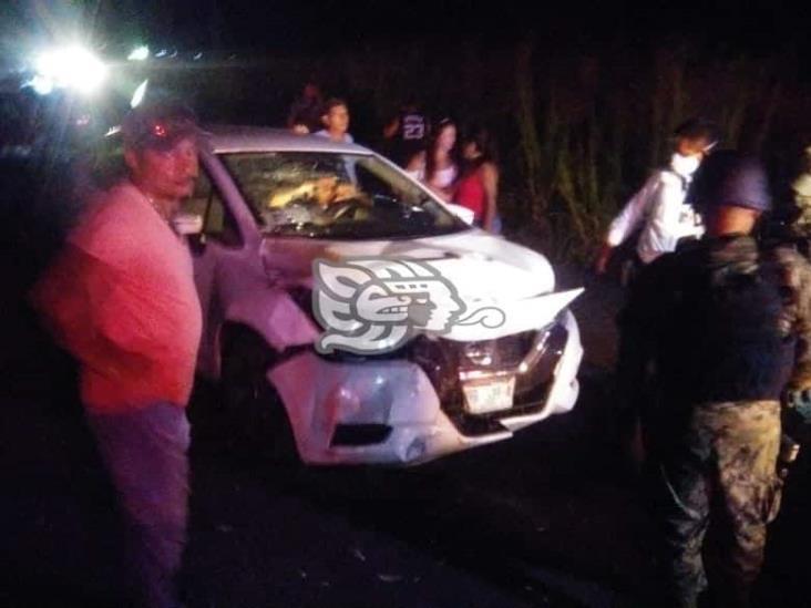 Accidente en carretera Las Matas deja 5 lesionados