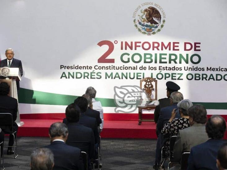 Gertz Manero y Arturo Zaldívar, entre los ausentes en Segundo Informe de Gobierno