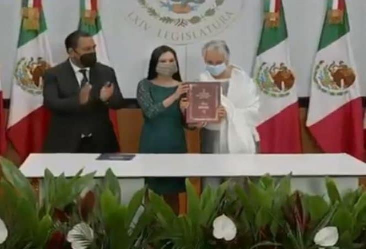 Sánchez Cordero entrega II Informe de Gobierno en San Lázaro