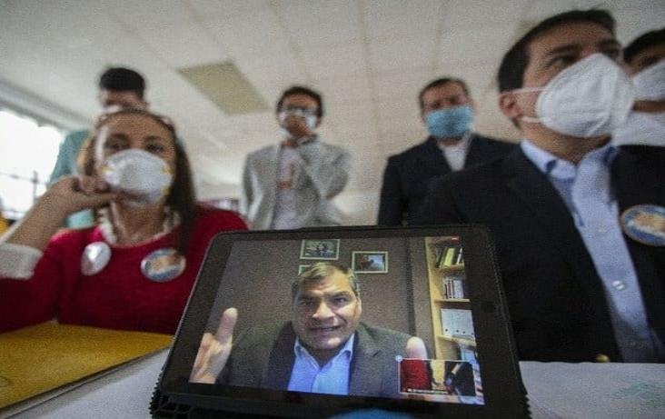 Gravísimo bloqueo a mi candidatura a vicepresidente en Ecuador: Correa