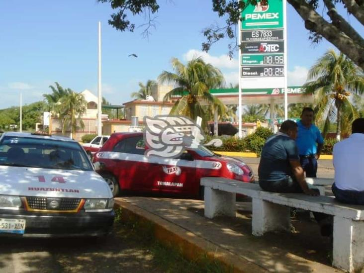 En zona serrana del sur de Veracruz, la gasolina más costosa