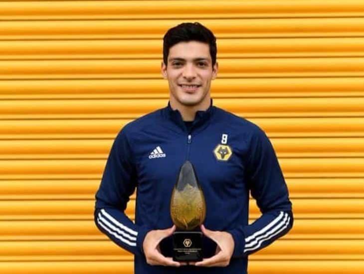 Raúl Jiménez es elegido como el mejor jugador del Wolverhampton