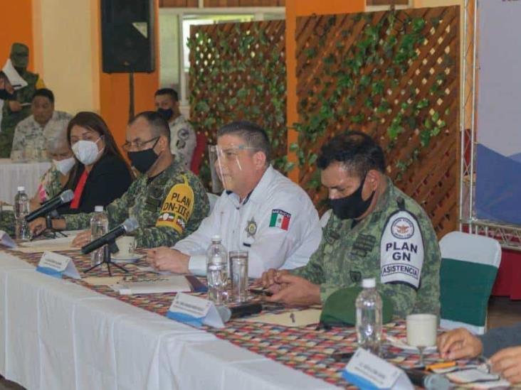 Cónclave de SSP con 11 alcaldes de Veracruz
