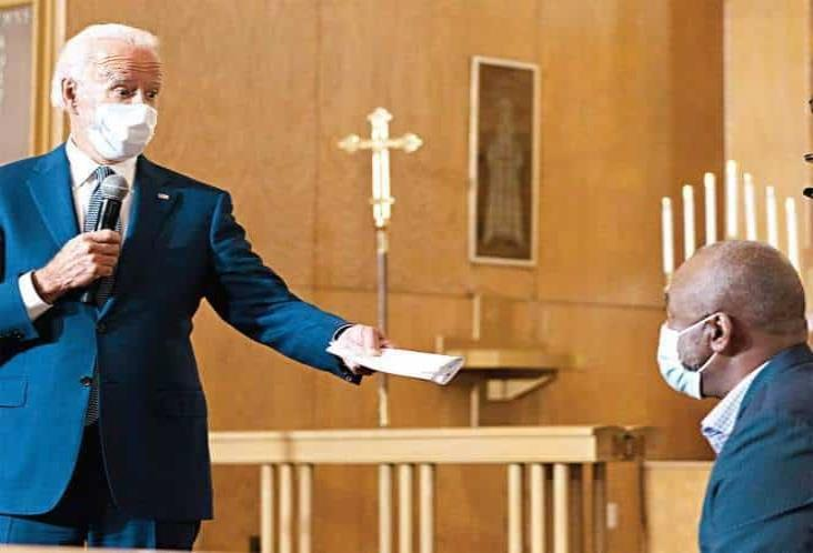 Biden: racismo en EU es institucional; visita a Kenosha