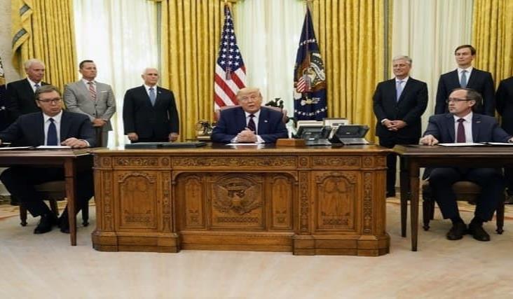 Trump anuncia pacto entre Serbia y Kosovo para normalizar relaciones