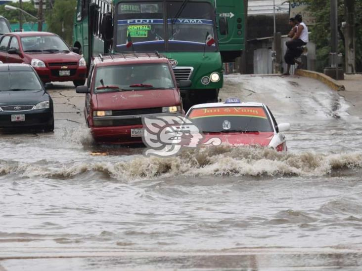Persistirá alerta gris por tormenta Tropical Nana en Veracruz