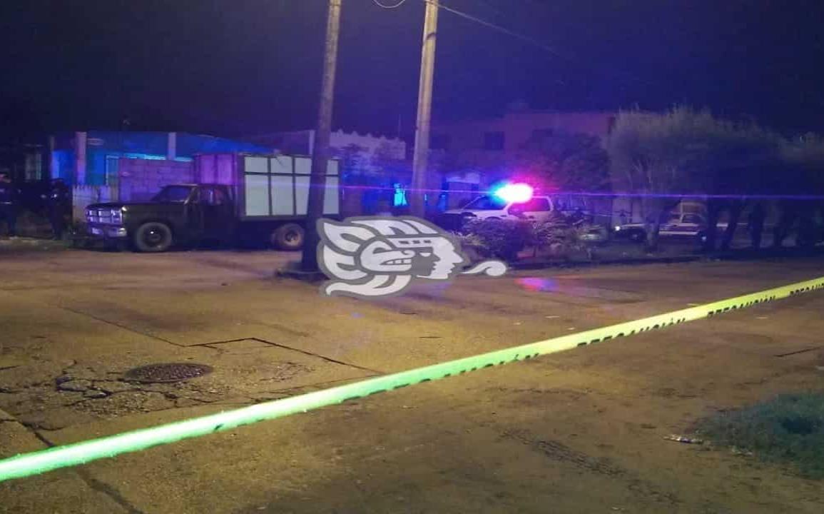 Riña entre ebrios deja un hombre baleado en Coatzacoalcos