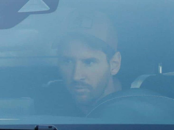Lionel Messi ´regresa´ a entrenamientos con el Barcelona