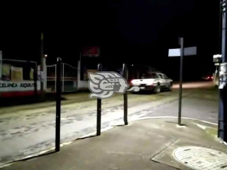 Balaceras en Fortín causan movilización policiaca