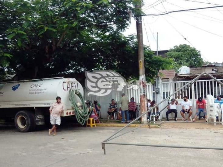 Por segunda vez, vecinos de San Pedro Mártir exigen agua a Caev