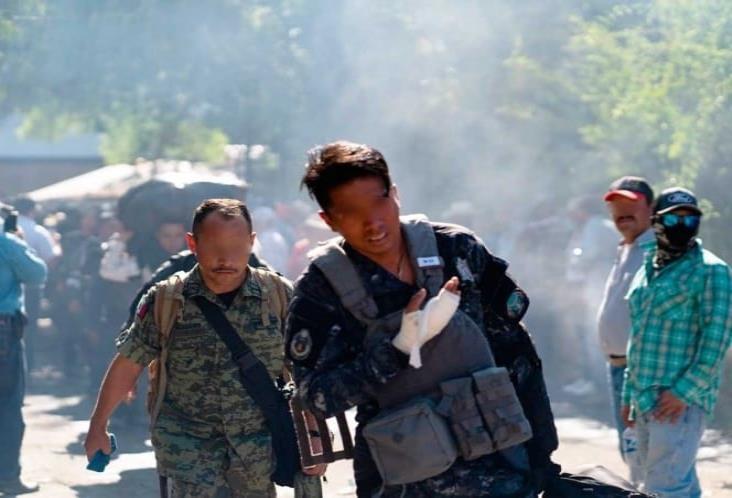 Repelió GN agresión de agricultores en Chihuahua