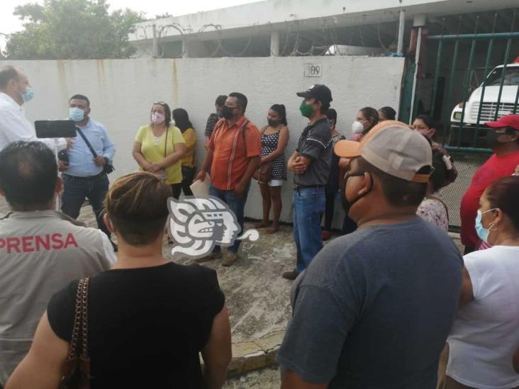 Habitantes de Allende se manifestaron ante CFE por apagones
