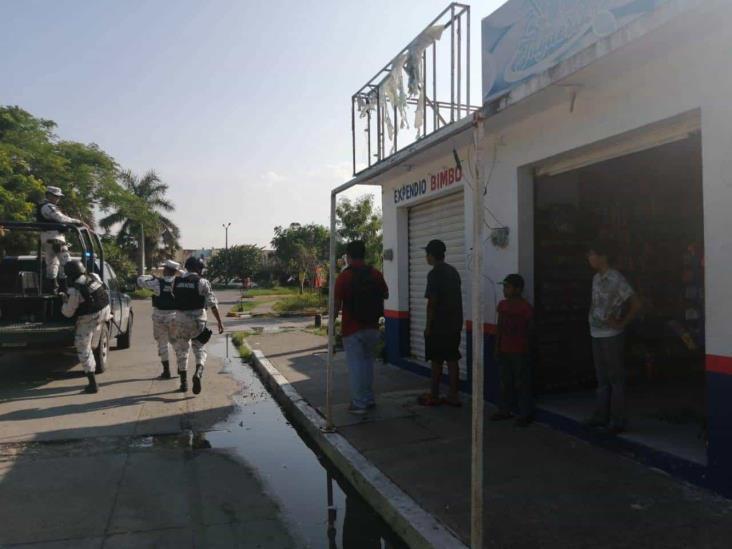 Asaltan expendió de pan en Medellín de Bravo