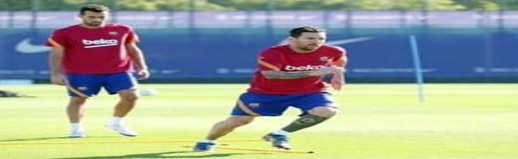 Messi, Busquets y Griezmann entrenaron en su día libre