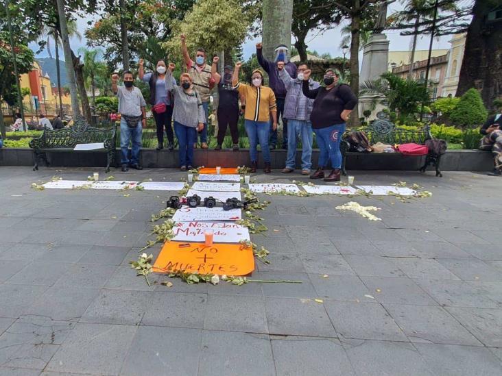 Periodistas en Orizaba claman justicia ante asesinato de Julio Valdivia