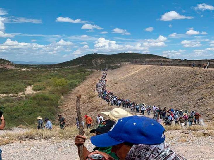 Trasfondo político en toma de presa de agua en La Boquilla: AMLO