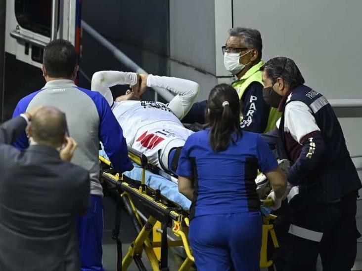 Jorge Hernández será operado tras fractura ante Cruz Azul