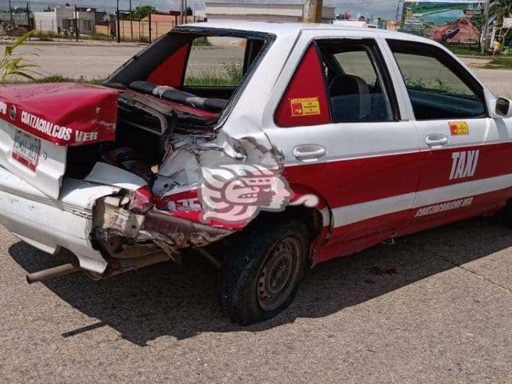 Aparatoso accidente sobre la carretera a Las Barrillas