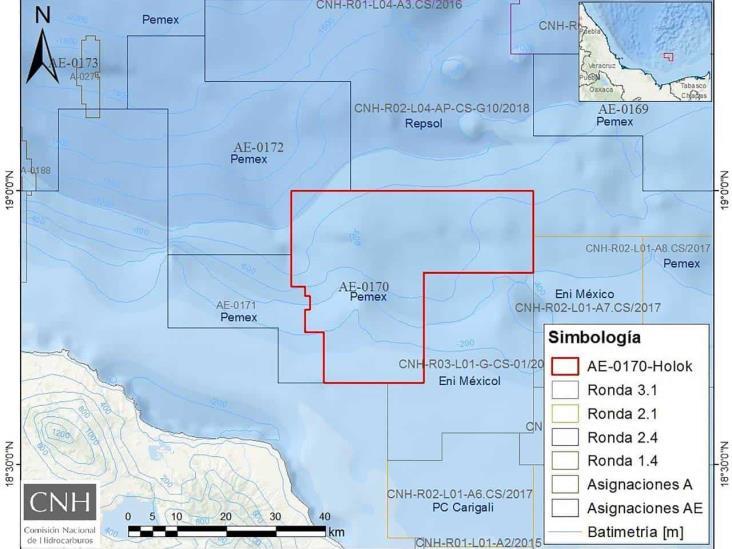 Aprueba CNH nueva exploración de Pemex en Veracruz por 16 mdd