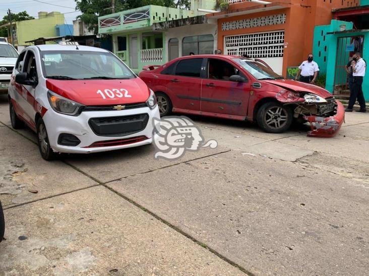Por alcance y exceso de velocidad, mayoría de accidentes en Coatzacoalcos