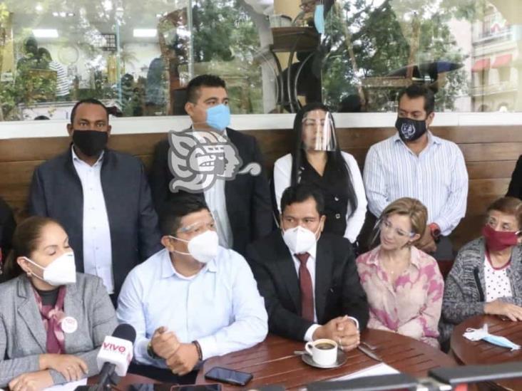 Respaldan en Xalapa a Mario Delgado para dirigir Morena