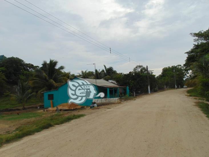 La tempestad ocasiona apagones en zona rural de Minatitlán