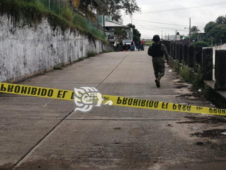 Arrojan cuerpo de ejecutado en plena calle de Coatzacoalcos