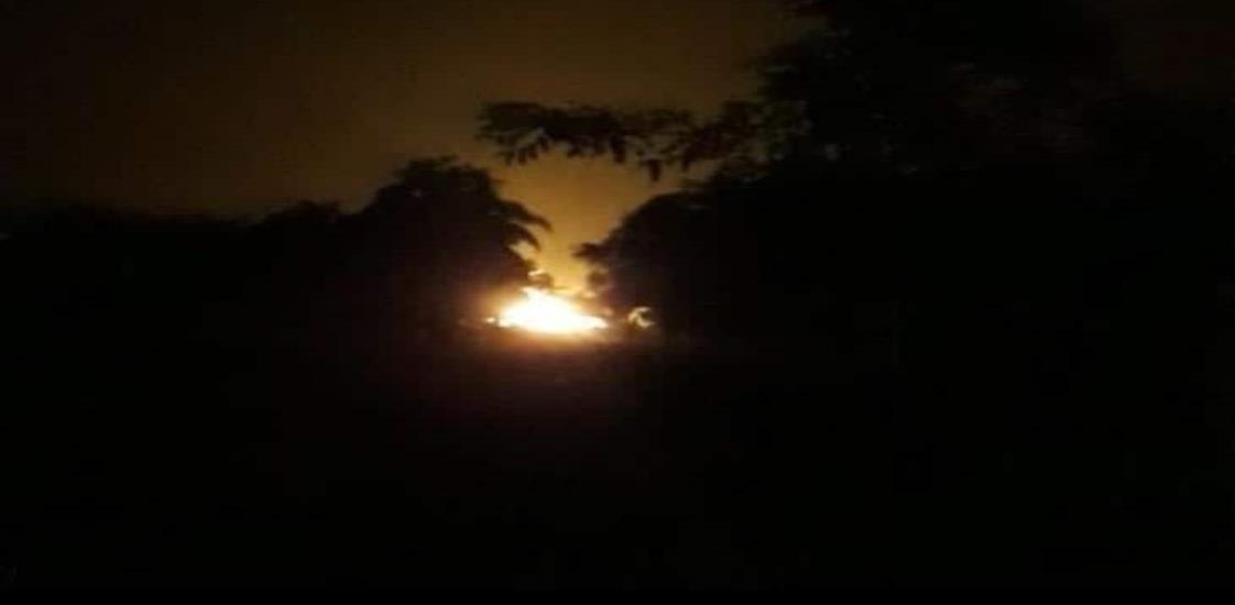 Desfogue de Pemex alarma a comunidades de Las Choapas