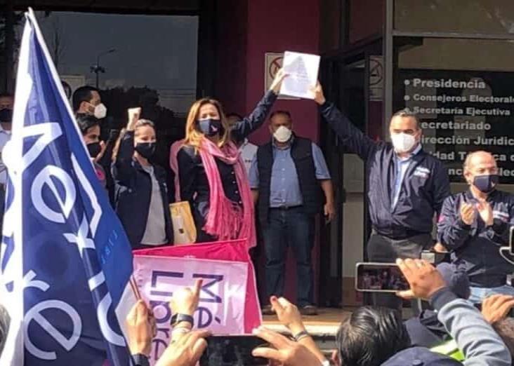 México Libre: Calderón y Zavala impugnan negativa de registro como partido del INE