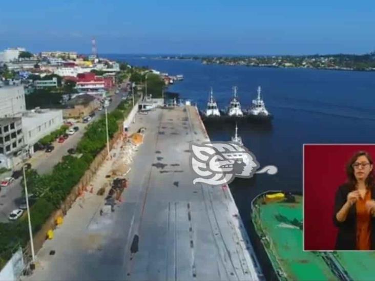 Muelles de Pajaritos listos antes de acabar el 2020