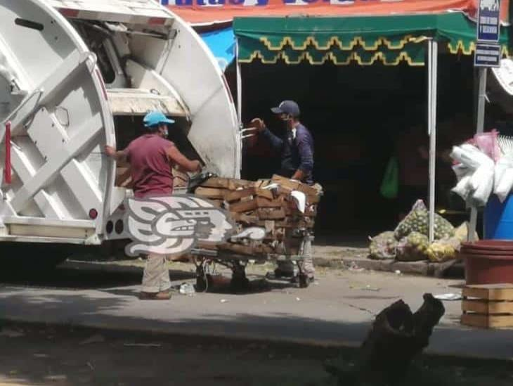 Continúa el desperdicio de alimentos en Coatzacoalcos