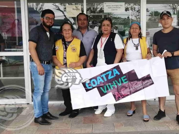 Coatza Vihve AC planea retomar campañas de prevención