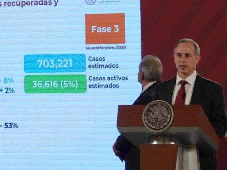 México suma siete semanas con tendencia a la baja de Covid: Gatell