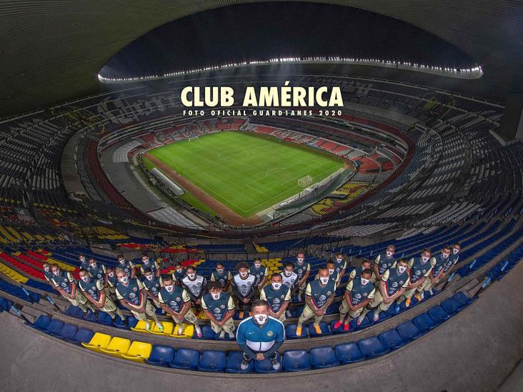 América se tomó la foto oficial del Apertura 2020