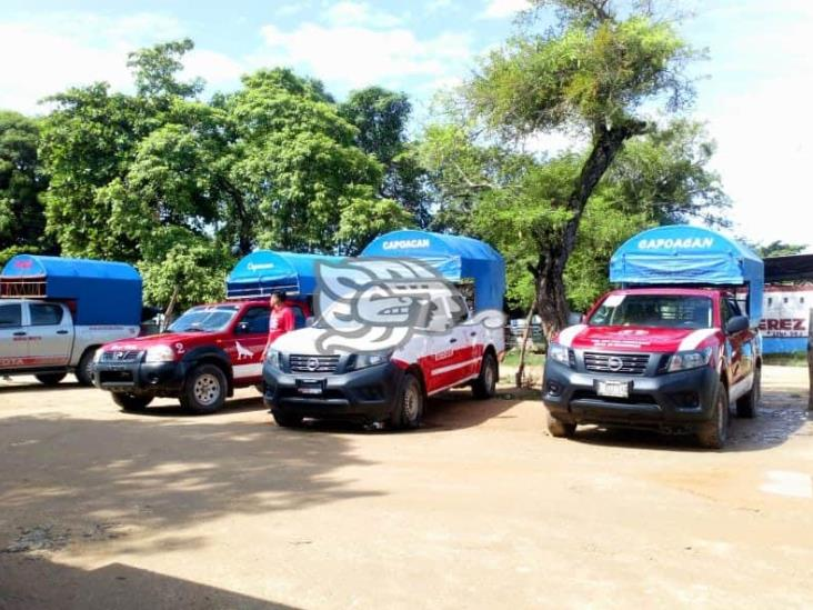 Al 50 por ciento trabaja transporte Mixto Rural de Capoacán