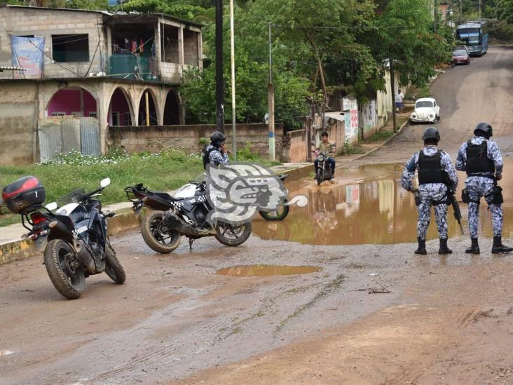 Tras persecución, detienen a mecánico con moto robada en Acayucan