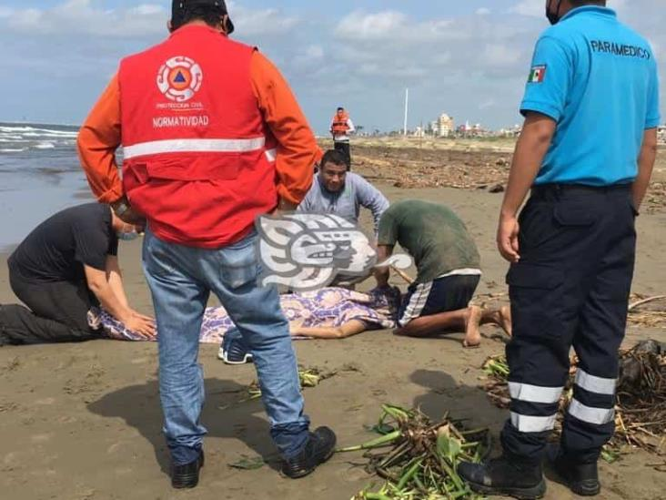 Identifican a la joven ahogada en playas de Coatzacoalcos