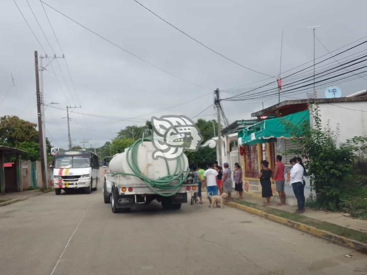San Pedro Mártir seguirá recibiendo agua a través de pipas: Jim Hernández.