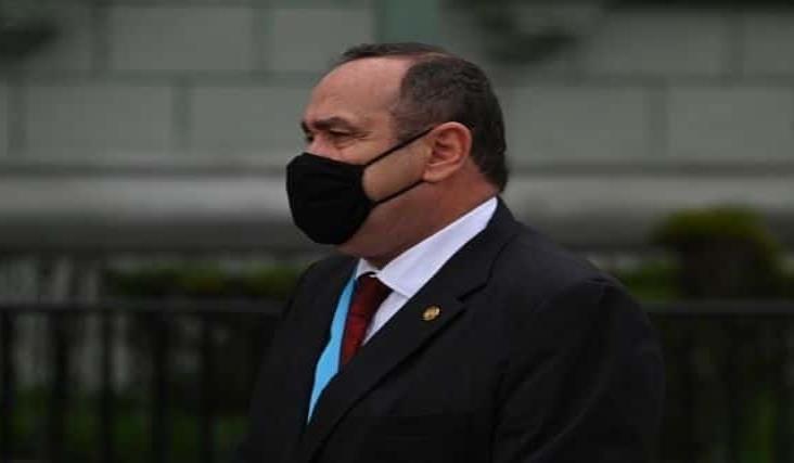 Presidente de Guatemala da positivo a coronavirus