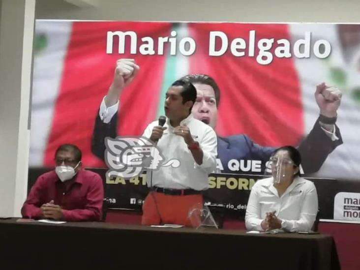 Mario Delgado, opción más idónea para encabezar comité de Morena: Gutiérrez Luna