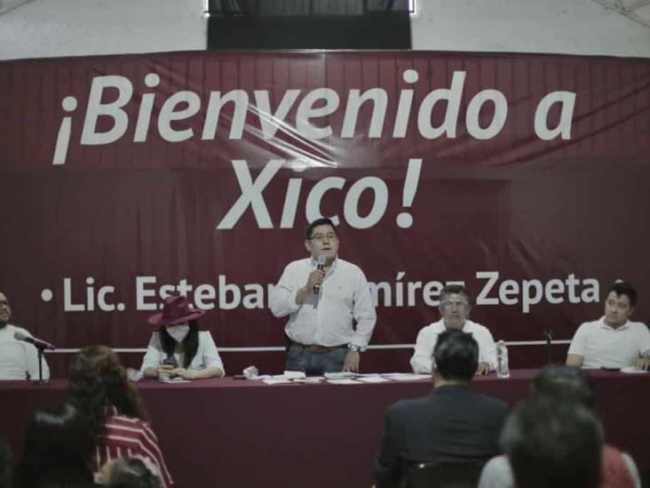 Trabajemos por la unidad y la organización de Morena: Esteban Ramírez