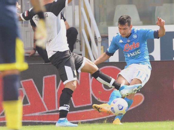 ´Chucky´ Lozano fue titular en inicio de temporada con Napoli