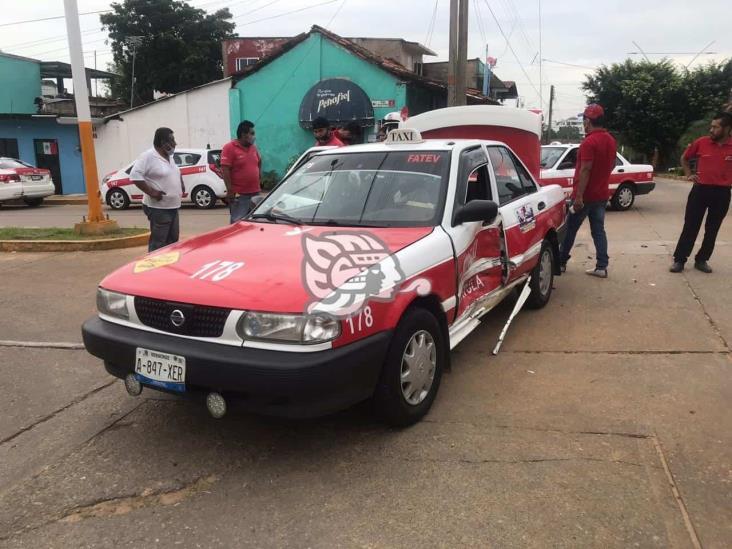 Par de accidentes en Acayucan y Oluta dejan dos lesionados