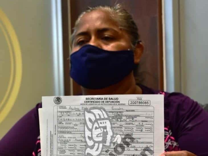 San Juana suplica apoyo para trasladar el cuerpo de su hermana a Coahuila