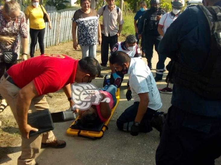 Derrapan motociclistas en Villa Allende; una mujer lesionada