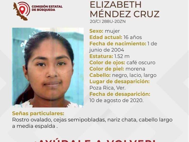 Sin aparecer, menor oaxaqueña desaparecida en Poza Rica