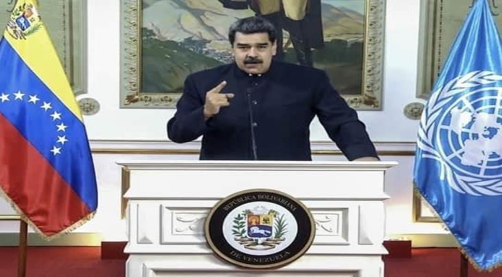Maduro pide ante la ONU cesar restricciones contra Venezuela