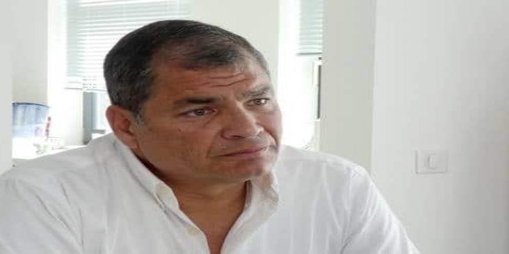 Ordenan captura del ex presidente de Ecuador, Rafael Correa